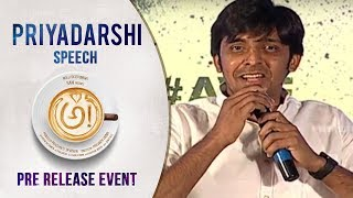 Comedian Priyadarshi Speech @ Awe Movie Pre Release Event