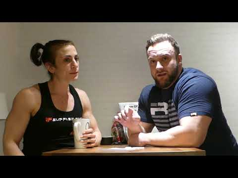 JF ATHLETES - SUSANNE NAAMANI 6 DAYS OUT WP DEBUT BBC - INTRO & RYGGTRÄNING