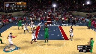 NBA 2k13: Sixers vs Celtics Intro with NBA Draft Class 2013