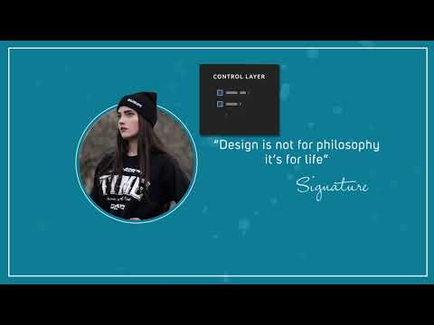Creative and Clean quotes - After effects Template