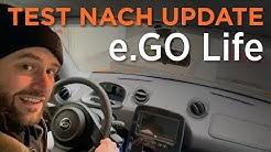 e.GO Life – Neue Testfahrt nach Software-Update (Feb 2020)