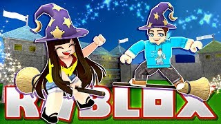 Turning Into Wizards and Building Our Own Castle! (Roblox)