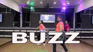 Buzz | Aastha Gill feat Badshah | Dance Choreography By Step2Step Dance Studio | Girls Dance Video