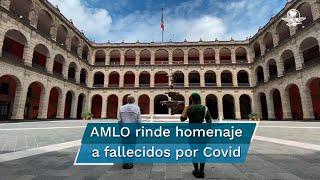 """El presidente Andrés Manuel López Obrador dijo que le duelen mucho las más de 50 mil personas que han perdido la vida por la pandemia de Covid-19, """"pero hemos actuado con responsabilidad, con profesionalismo"""""""