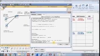 Packet Tracer OSPF (Option Shortest Path First) Wildcard Network Part 1 of 3