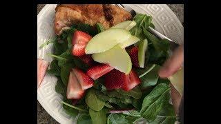 Ăn giảm mập với dâu tây và táo xanh //Cuộc Sống Canada