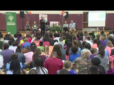 Concord school given Sandy Hook Promise award from YouTube · Duration:  1 minutes 48 seconds