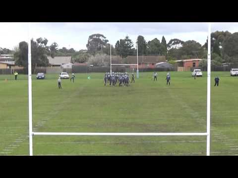 Sportscast ZoneCam - American Football - Geelong Buccaneers