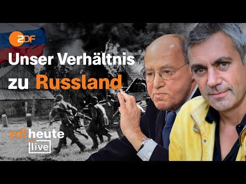 Wie ist unser Verhältnis zu Russland? | ZDFheute live 80 Jahre nach dem Überfall auf die Sowjetunion