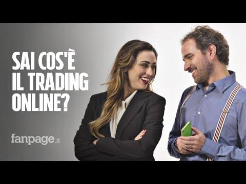 Sai cos'è il trading online?