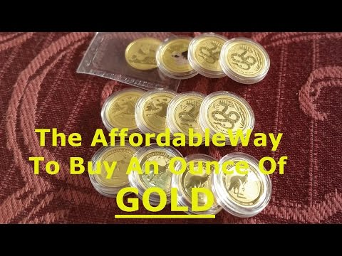The Affordable Way To Buy An Ounce Of GOLD [4K]