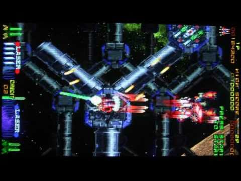 Saturn shooter review: Layer Section (aka Galactic Attack / Raystorm)