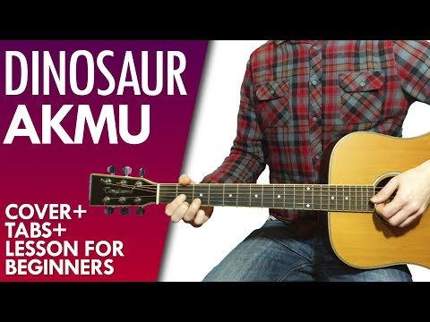AKMU DINOSAUR acoustic guitar lesson, chords and tab
