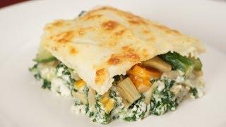 Come Preparare Lasagne Bianche Al Forno Alle Verdure (ricetta Vegetariana)