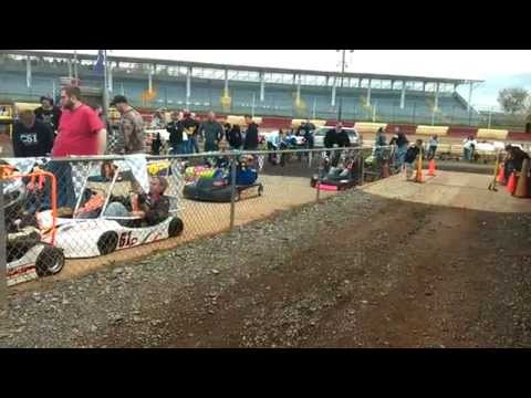Alain Davidson  at Selinsgrove Raceway Park