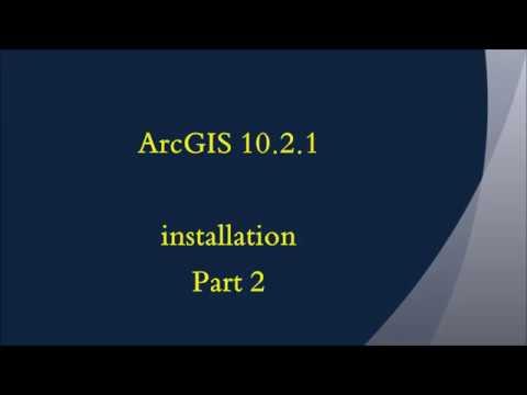Arcgis tutorial 1 arcgis 1021 installation youtube arcgis tutorial 1 arcgis 1021 installation sciox Gallery