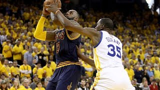 Superstars SHINE In 1st Half of NBA Finals Game 1: Best of LeBron, Durant, Curry and Kyrie