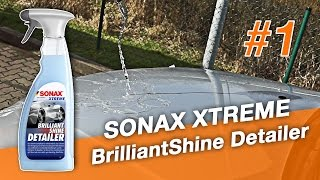 SONAX XTREME BrilliantShine Detailer | Test am 1er BMW | Full-HD | German | #1