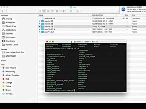Update PHP CLI Version On MAC OS X
