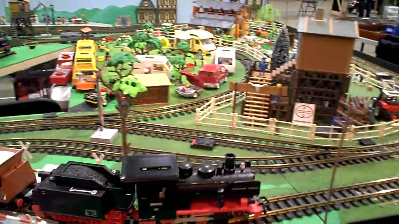 G scale playmobil trains stoneleigh warwickshire jan - Train playmobil ...