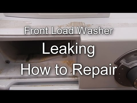 Front Load Washer Repair Not Draining Or Spinning How