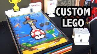 Functional LEGO Pinball Machine | Brickvention 2019