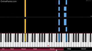 Pink - What About Us - Easy Piano Tutorial