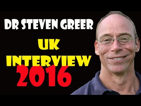 Dr Steven Greer 2016 UK Interview (FULL INTERVIEW) / UFO & A