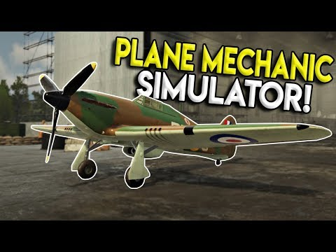 WAR THUNDER MEETS CAR MECHANIC SIMULATOR! - 303 Squadron: Battle of Britain Demo Gameplay |