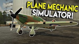 WAR THUNDER MEETS CAR MECHANIC SIMULATOR! - 303 Squadron: Battle of Britain Demo Gameplay