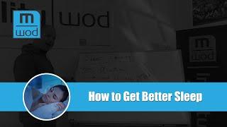 How to Get Better Sleep (Sleep Density / Sleep Quality)