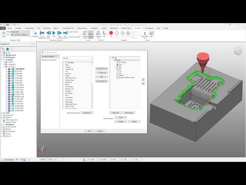 Ribbon Interface - PowerMill 2018