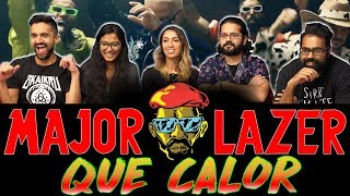 Normies Music Video Reaction - Major Lazer - Que Calor  Ft (J. Balvin & El Alfa) Offical Music Video