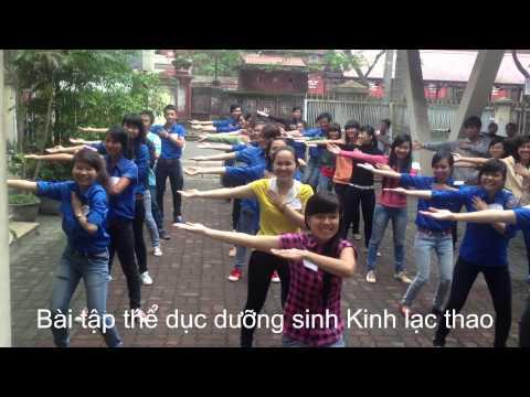 Bài tập thể dục dưỡng sinh Kinh Lạc Thao