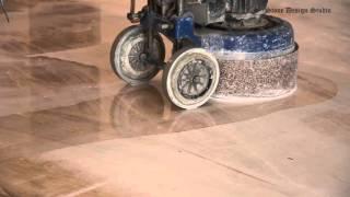 видео полировка мраморного пола