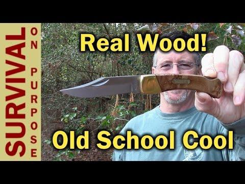 Old Timer 6OTW Golden Bear Lockback Folding Knife Review