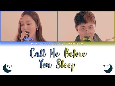 Jessica (제시카) Ft. Giriboy - 'Call Me Before You Sleep' Lyrics Color Coded (Han/Rom/Eng)