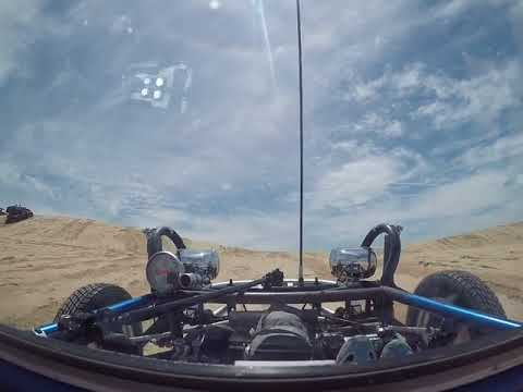 Silver Lake Sand Dunes 1/2 Lap in a sand rail