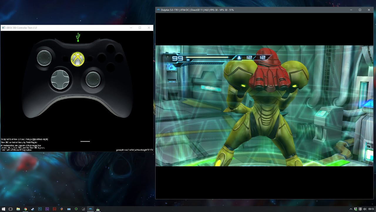 Xbox 360 settings for Metroid Other M - Dolphin Emulator