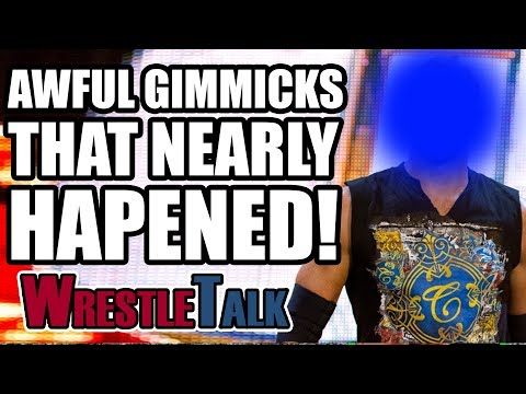 5 Awful WWE Gimmicks That NEARLY Happened!