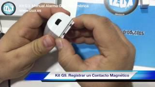 ALARMA GSM INALÁMBRICA - MANUAL KIT G9