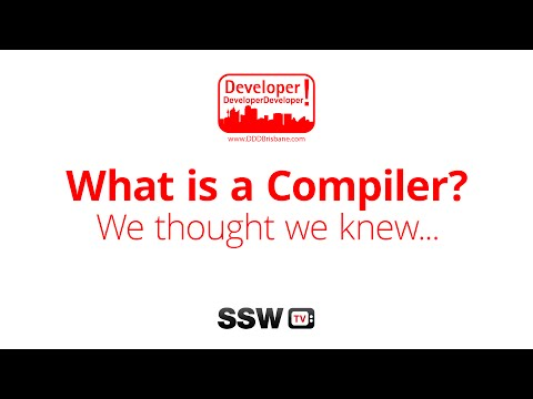 What is a compiler? We thought we knew… | Mads Torgersen at DDD Brisbane 2015