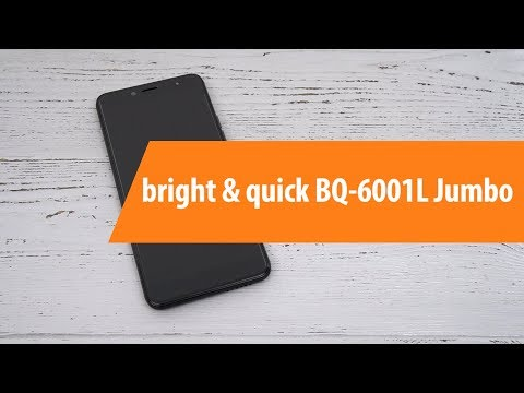 Распаковка смартфона Bright & Quick BQ-6001L Jumbo / Unboxing Bright & Quick BQ-6001L Jumbo