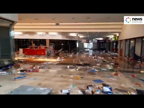 Pietermaritzburg Shopping center looted amid deadly violence in South Africa