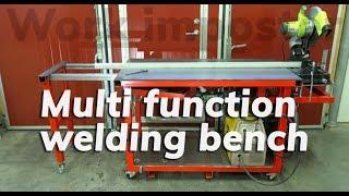 Homemade multi function welding bench