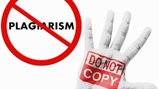 learn what counts as plagiarism to avoid it