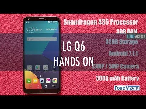 LG Q6 Hands On : Full Vision Military Spec Champion