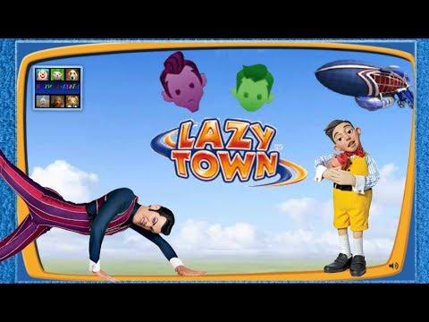 ZIGGY LAZY TOWN CHALLENGE: Stingy - Robbie Rotten