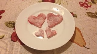 Mother's Day Strawberry Delight Jelly ( Jello ) Hearts Dessert