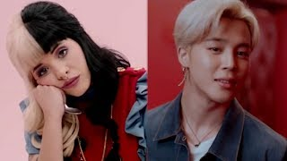BTS and MELANIE MARTINEZ - Lights x Alphabet Boy (MASHUP)